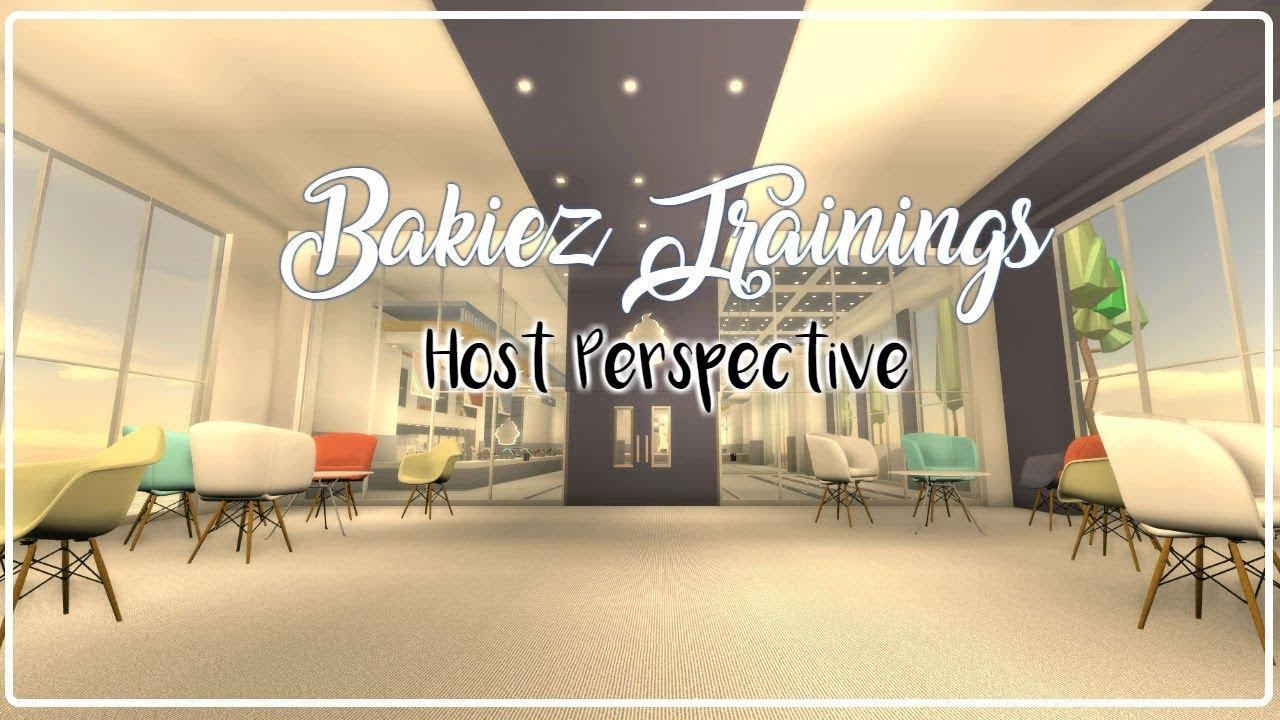 Bakiez Trainings Host Perspective Bakiez Roblox Youtube