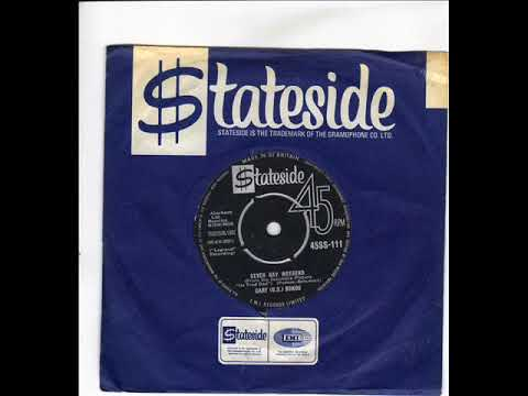 GARY US BONDS -  SEVEN DAY WEEKEND -  GETTIN' A GROOVE - STATESIDE 45SS 111