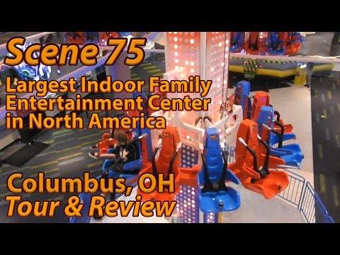 Scene 75 (Columbus, OH) Largest Indoor FEC | Tour & Review | October 2019