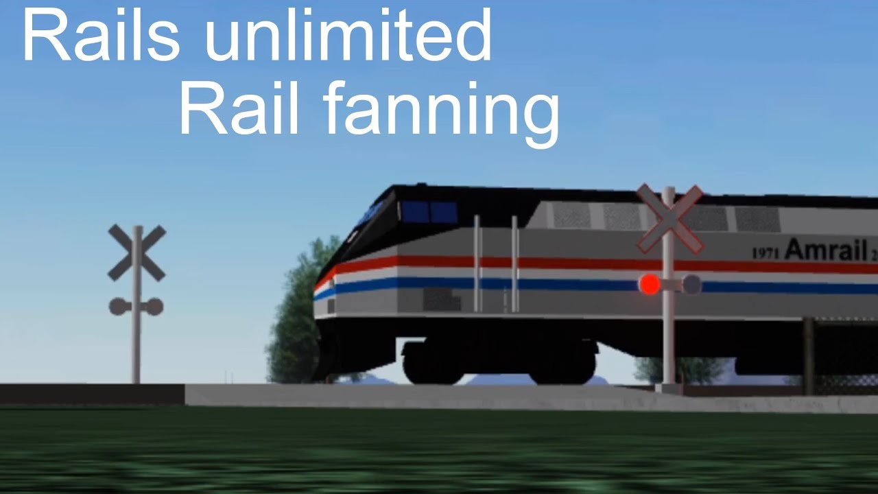 Railfanning At Rails Unlimited 121518 By Shoreline Railfan - rails unlimited train building scale roblox