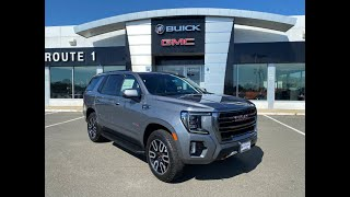 A quick look at the all-new 2021 GMC Yukon AT4