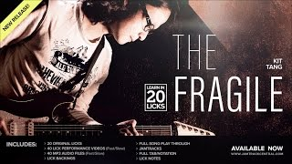 *2016 NEW* Learn in 20 Licks - The Fragile - Kit Tang | JamTrackCentral.com Promo