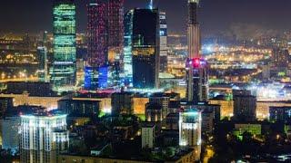 Ночная Москва под красивую музыку!