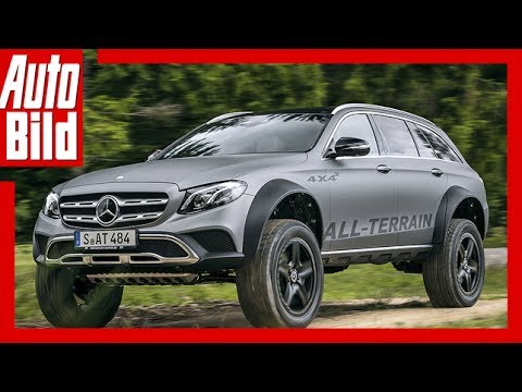 Mercedes E-Klasse All-Terrain 4x4² (2017) - Aufgebockter All-Terrain /Review/Test/Details