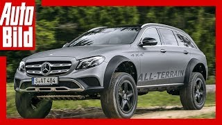 Mercedes E-Klasse All-Terrain 4x4² (2017) - Aufgebockter All-Terrain /Review/Test/Details