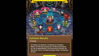 Dungeon Link - The Return: Part 2 Hero and Gem Summons