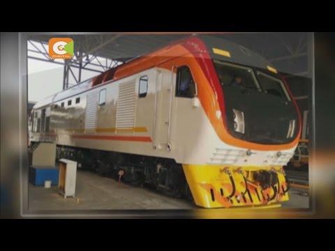 SGR Project: Locomotives land at Mombasa