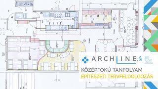 ARCHLine.XP Középfokú tanfolyam - 3/8 Építészeti tervfeldolgozás
