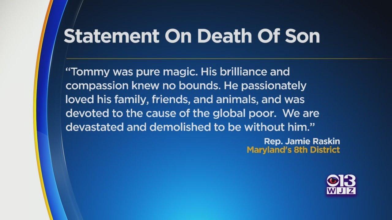 How Did Jamie Raskin's son Tommy Raskin die? A look at their ...
