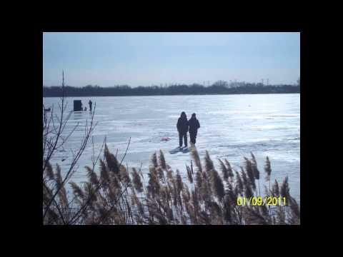 Indiana ice fishing youtube for Ice fishing indiana