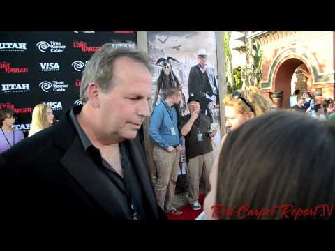 Executive Producer & Co-Writer Terry Rossio at the World Premiere of The Lone Ranger @TerryRossio