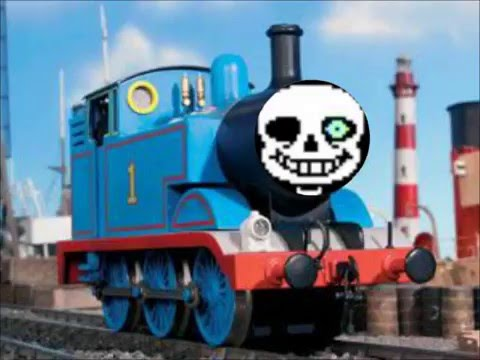 Sans the Bone Engine(Undertale x Thomas the Tank Engine ...