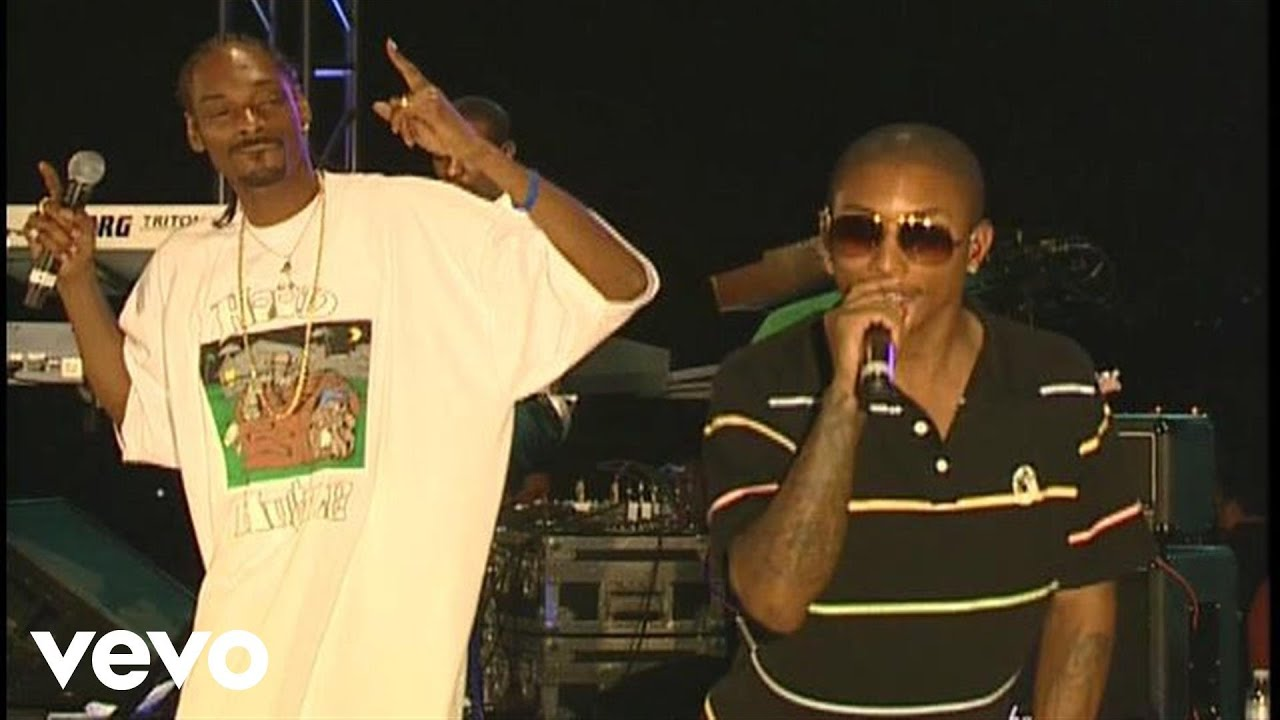 Pharrell, Snoop Dogg - Number One (Live) ft  Snoop Dogg