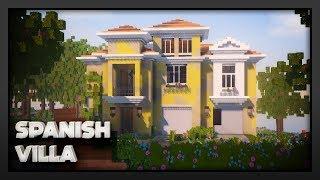 Minecraft - Spanish Villa