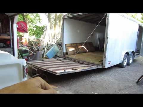 the dreaded ramp repair on trailer trash