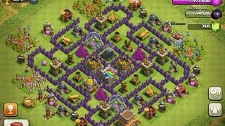 Top 3 Town Hall 8 Farming Bases! - Clash Of Clans