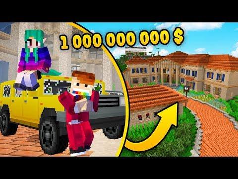 WILLA ZA 1000000000$ W MINECRAFT! *zwiedzamy!*   CZOKLET I GAENALI