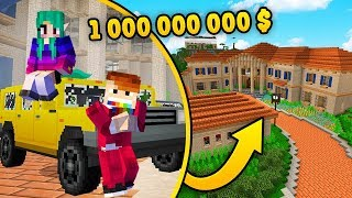 WILLA ZA 1000000000$ W MINECRAFT! *zwiedzamy!* | CZOKLET I GAENALI