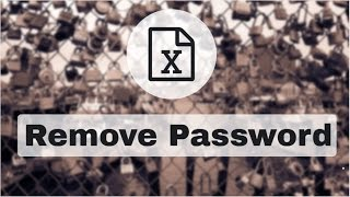 Remove password from Excel within few minutes | Advanced Excel Trick