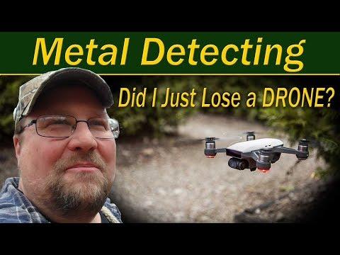 Metal Detecting, Drone!
