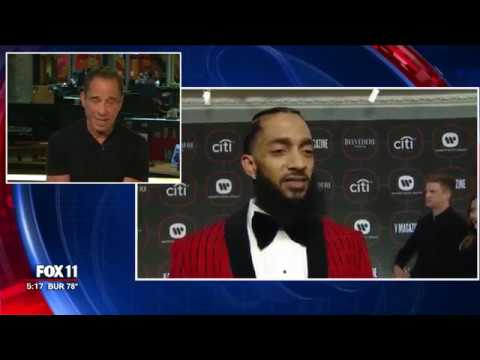 TMZ's Harvey Levin with Surveillance Video of Nipsey Hussle's Murder
