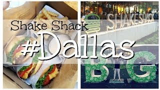SNEAK PEEK EXCLUSIVE: FIRST SHAKE SHACK IN DALLAS!!!!