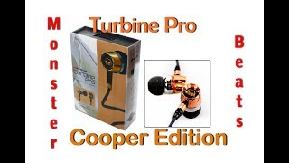 распаковка, обзор и тест: Наушники Monster Beats Turbine Pro Copper Edition