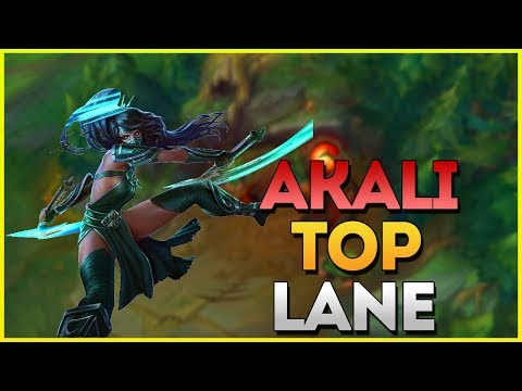 HOW TO PLAY TOP LANE AS AKALI! (League Of Legends Patch 9.13)