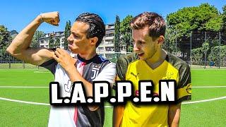 WER IST DER GRÖßTE LAPPEN FUßBALL CHALLENGE | LOCOFLOKI