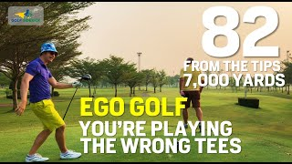 YOU'RE PLAYING THE WRONG TEES! Also, How to NOT break 80