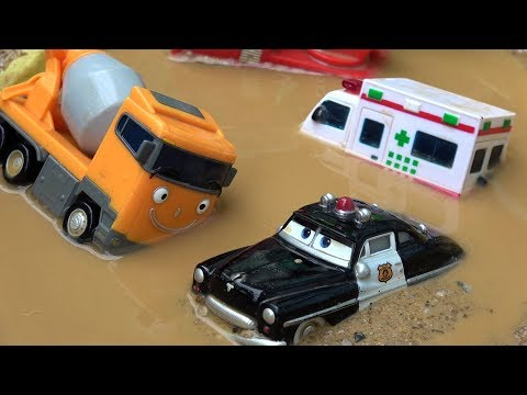 Tayo the Little Bus Toys Learn Colors - Learning Videos for Children
