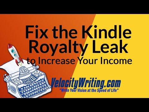 Fix the Kindle Royalty Leak to Increase Your Income