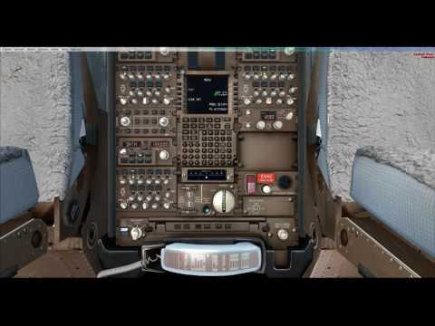 FSX PMDG 777-300 HKG LOFT  PRACTICE
