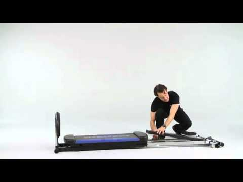 Discover how easy it is to get fit and stay in shape with the Total Gym XLS. This complete home gym equipment features the ability to do 80+ exercises, a lb weight capacity for total strength and stability and a padded glideboard with head support.