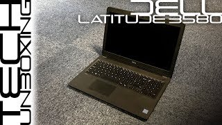 New Dell Latitude 3580 Unboxing