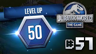 LEVEL 50!! || Jurassic World - The Game - Ep 57 HD