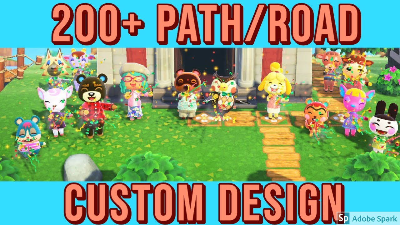200 + ROAD/PATH/FLOOR CUSTOM DESIGN IN ANIMAL CROSSING NEW ... on Animal Crossing New Horizons Wood Design  id=25902