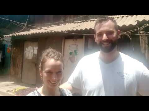 Mr. Hoffman was greatful to see the Slum's of Dharavi