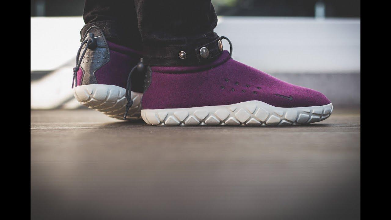NikeLab Air Moc Tech Fleece   On Feet