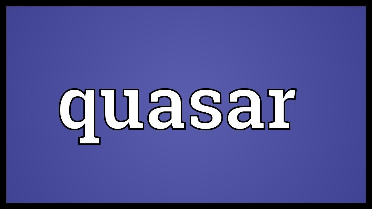 Quasar Meaning