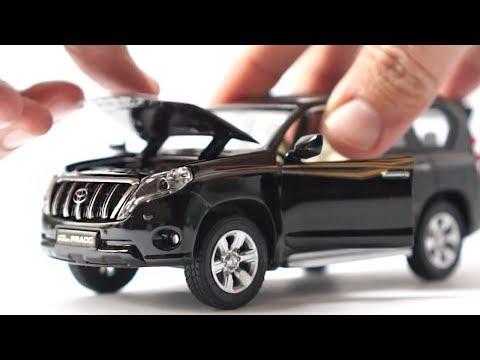 unboxing-of-toyota-land-cruiser-prado-diecast-model-car-1:32-scale