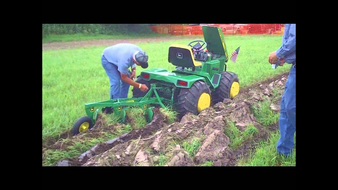 Garden Tractor Custom Truck : Custom john deere garden tractor at little g