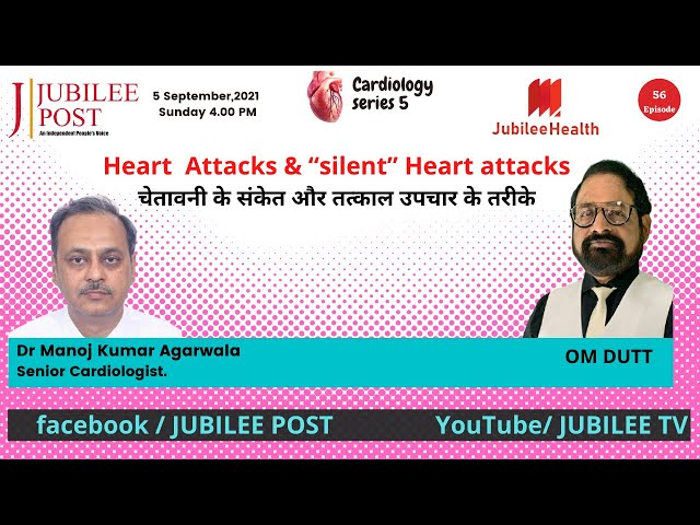 Know What Happens Before You Have Heart Attack-Dr Manoj Kumar Agarwala ,Cardiologist.(Hindi Video)