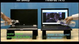 Lenovo ThinkPad Torture Test: The Water Spill