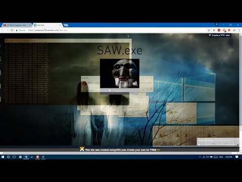 SAW.exe {is it the most horrible virus?}