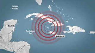 Major earthquake strikes south of Cuba