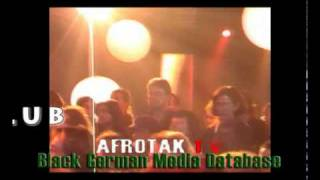 Black German Music Afro Deutsch OCEANA Schwarze Deutsche ARTE LOUNGE Afrika Berlin OCEANA Hamburg