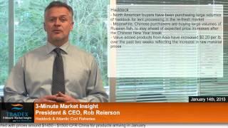 3-Minute Market Insight EP115 - Haddock & Atlantic Cod Fisheries