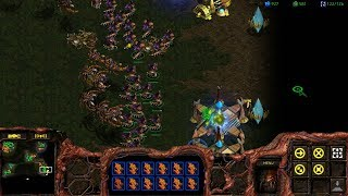 StarCraft: Remastered Co-op Campaign Zerg Mission 9 - The Invasion of Aiur