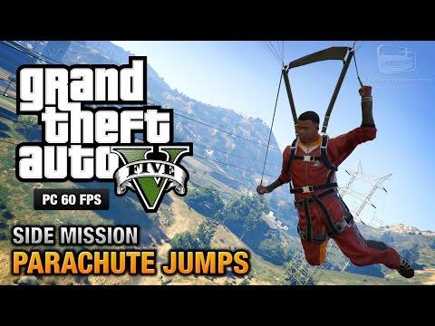GTA 5 PC - All Parachute Jumps [100% Gold Medal Walkthrough]